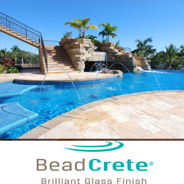 Beadcrete Pool Resurfacing Installation Florida Pool Surfaces Inc.