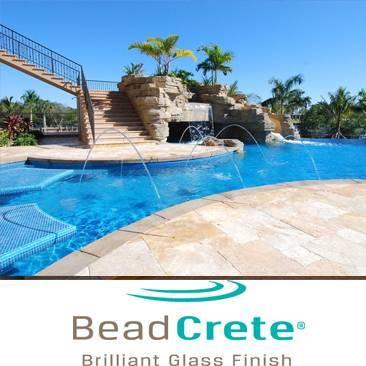 Beadcrete Pool Resurfacing Installation Florida Pool Surfaces Inc.
