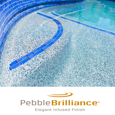 Pebble Brilliance Pool Surfaces Resurfacing