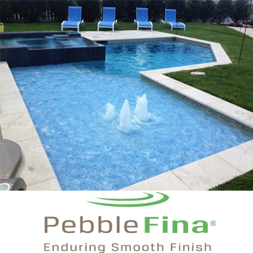 Pebble Fina Pool Resurfacing Installation Florida Pool Surfaces Inc.