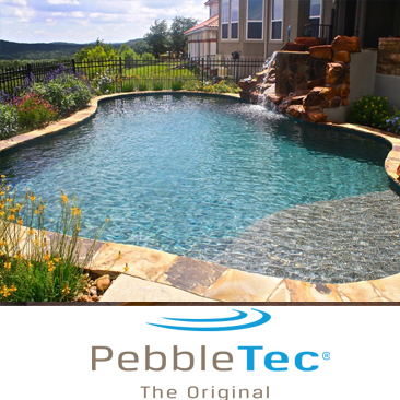PebbleTecPool Resurfacing Installation Florida Pool Surfaces Inc.
